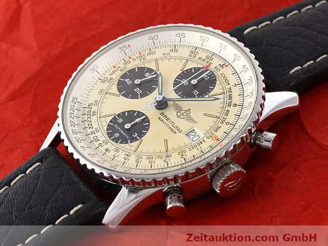 Used luxury watch Breitling Navitimer steel automatic Kal. ETA 7750 Ref. A13022  | 141138 01