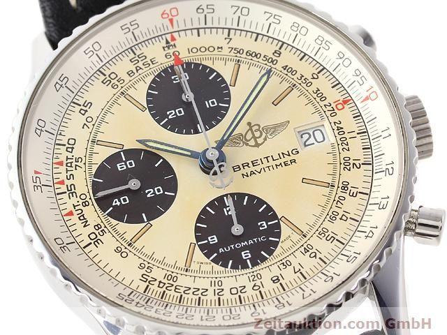Used luxury watch Breitling Navitimer steel automatic Kal. ETA 7750 Ref. A13022  | 141138 02