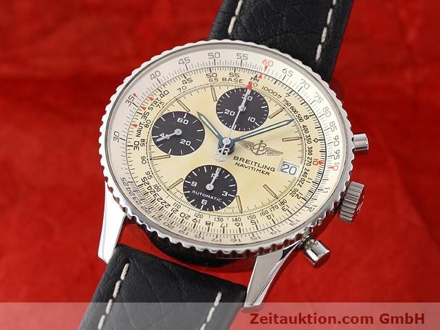 Used luxury watch Breitling Navitimer steel automatic Kal. ETA 7750 Ref. A13022  | 141138 04