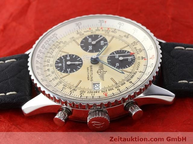 Used luxury watch Breitling Navitimer steel automatic Kal. ETA 7750 Ref. A13022  | 141138 05
