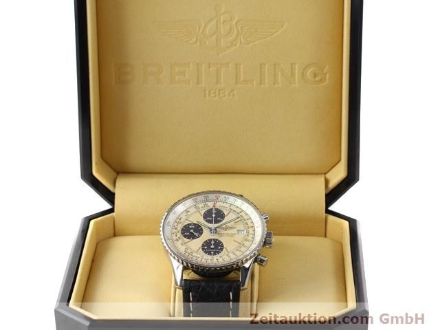 Used luxury watch Breitling Navitimer steel automatic Kal. ETA 7750 Ref. A13022  | 141138 07