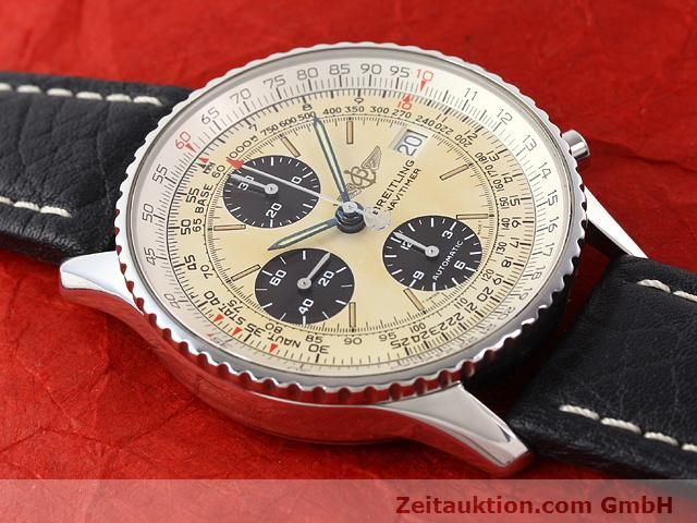 Used luxury watch Breitling Navitimer steel automatic Kal. ETA 7750 Ref. A13022  | 141138 14