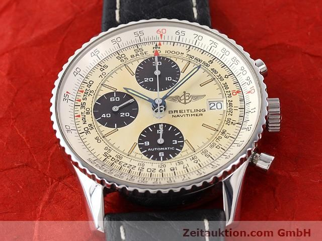 Used luxury watch Breitling Navitimer steel automatic Kal. ETA 7750 Ref. A13022  | 141138 15