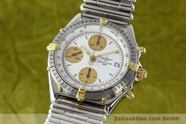 Used luxury watch Breitling Chronomat steel / gold automatic Kal. ETA 7750 Ref. 81.950  | 141139 04