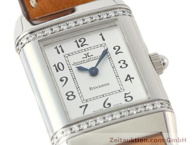 Used luxury watch Jaeger Le Coultre Reverso steel quartz Kal. 608 Ref. 265.8.08  | 141140 02
