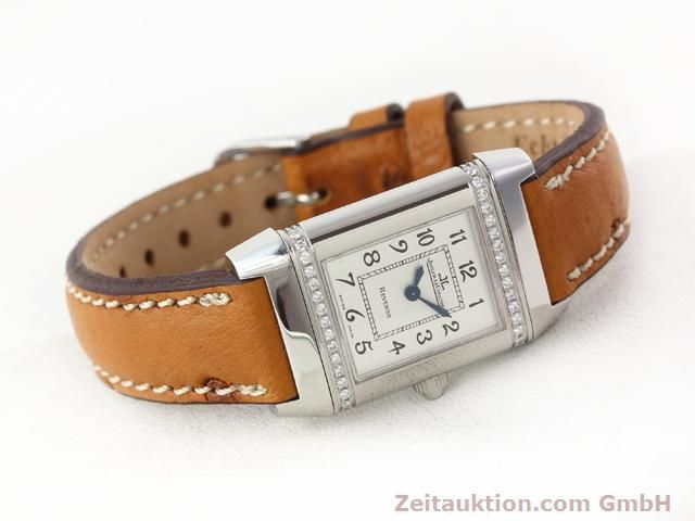 Used luxury watch Jaeger Le Coultre Reverso steel quartz Kal. 608 Ref. 265.8.08  | 141140 03