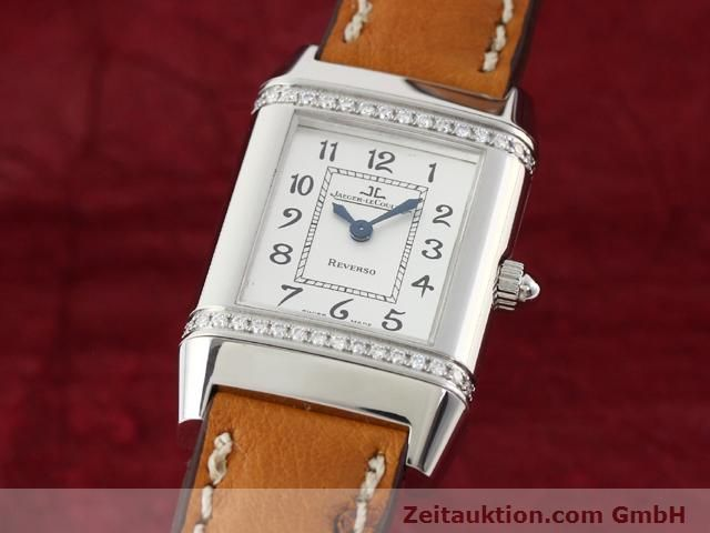 Used luxury watch Jaeger Le Coultre Reverso steel quartz Kal. 608 Ref. 265.8.08  | 141140 04