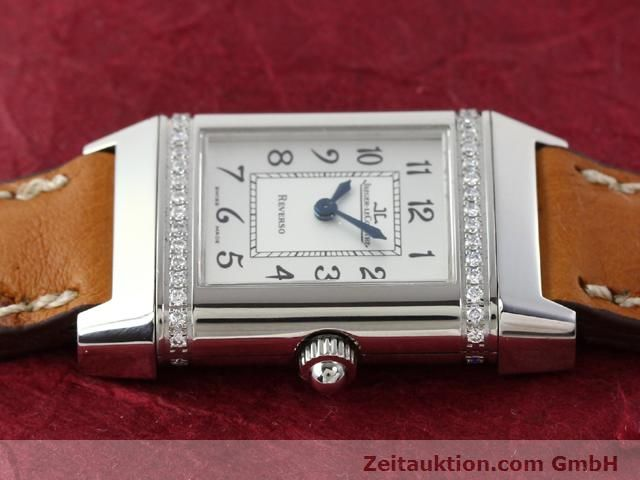 Used luxury watch Jaeger Le Coultre Reverso steel quartz Kal. 608 Ref. 265.8.08  | 141140 05