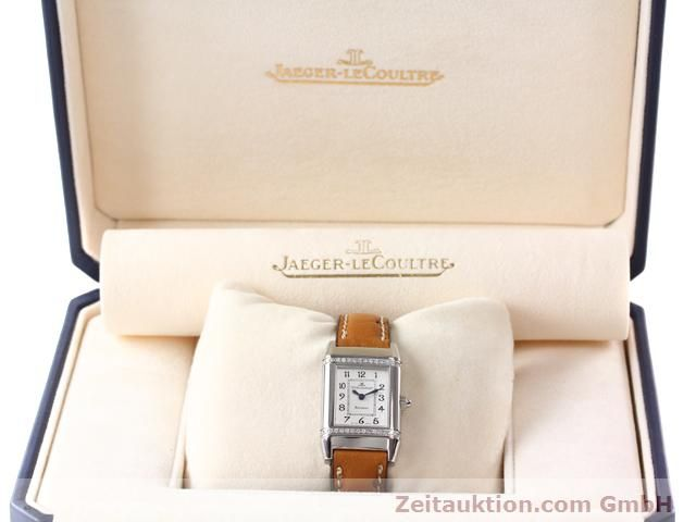 Used luxury watch Jaeger Le Coultre Reverso steel quartz Kal. 608 Ref. 265.8.08  | 141140 07