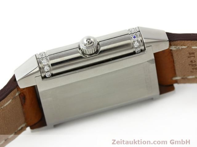 Used luxury watch Jaeger Le Coultre Reverso steel quartz Kal. 608 Ref. 265.8.08  | 141140 09