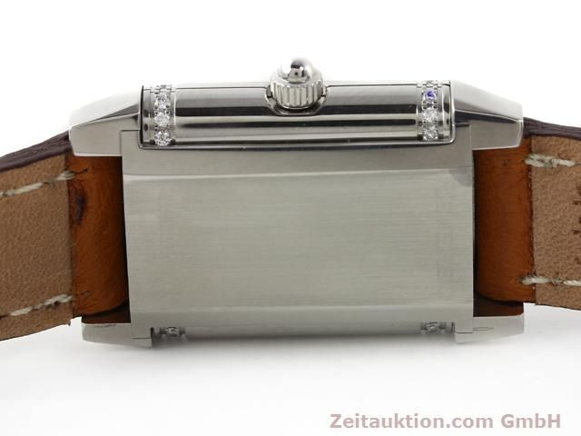 Used luxury watch Jaeger Le Coultre Reverso steel quartz Kal. 608 Ref. 265.8.08  | 141140 10