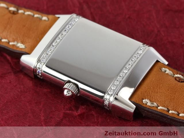 Used luxury watch Jaeger Le Coultre Reverso steel quartz Kal. 608 Ref. 265.8.08  | 141140 13