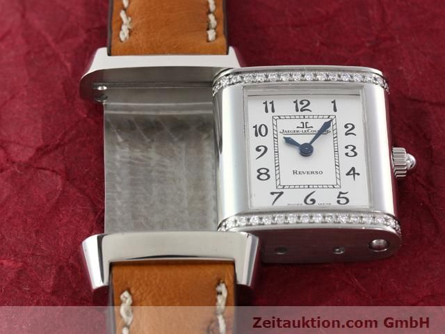 Used luxury watch Jaeger Le Coultre Reverso steel quartz Kal. 608 Ref. 265.8.08  | 141140 14