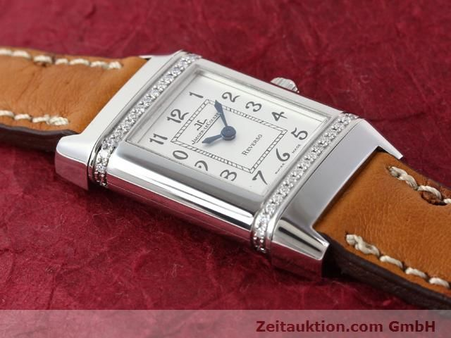 Used luxury watch Jaeger Le Coultre Reverso steel quartz Kal. 608 Ref. 265.8.08  | 141140 15