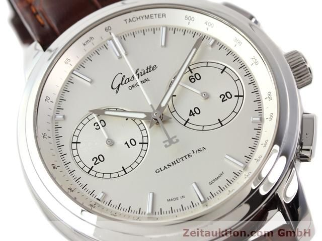 Used luxury watch Glashütte Senator steel automatic Kal. 39  | 141143 02