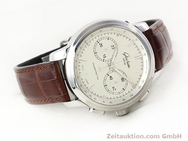 Used luxury watch Glashütte Senator steel automatic Kal. 39  | 141143 03