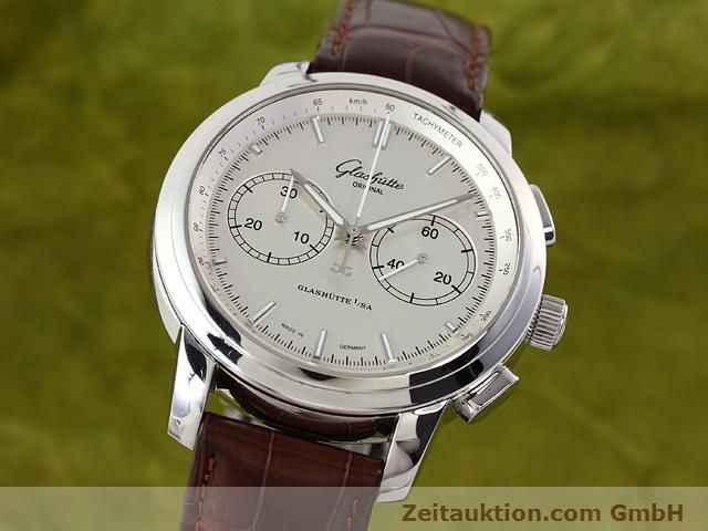 Used luxury watch Glashütte Senator steel automatic Kal. 39  | 141143 04