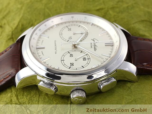 Used luxury watch Glashütte Senator steel automatic Kal. 39  | 141143 05