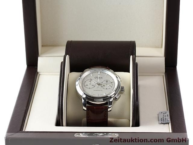 Used luxury watch Glashütte Senator steel automatic Kal. 39  | 141143 07