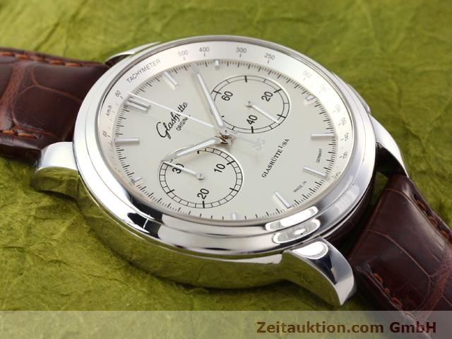 Used luxury watch Glashütte Senator steel automatic Kal. 39  | 141143 15