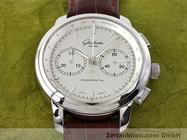 Used luxury watch Glashütte Senator steel automatic Kal. 39  | 141143 16