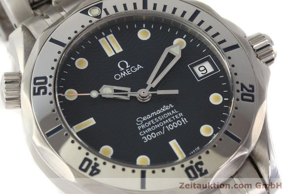 Used luxury watch Omega Seamaster steel automatic Kal. 1120  | 141146 02