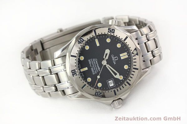 Used luxury watch Omega Seamaster steel automatic Kal. 1120  | 141146 03
