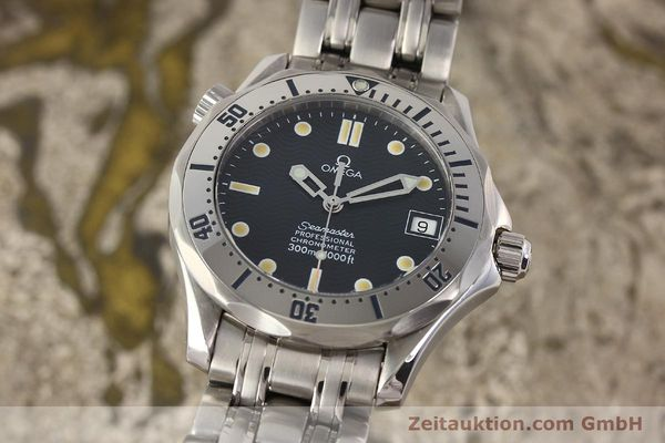 Used luxury watch Omega Seamaster steel automatic Kal. 1120  | 141146 04
