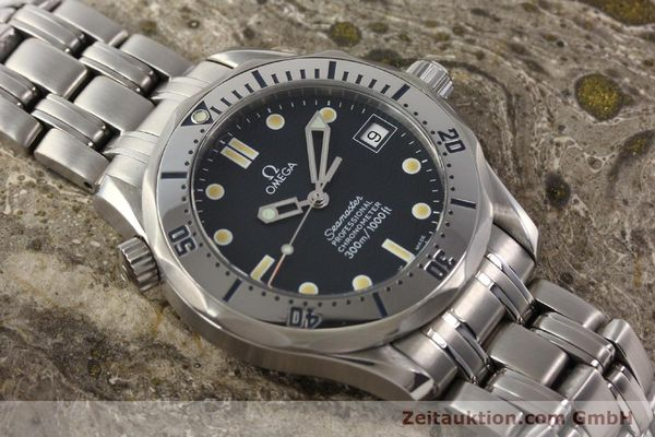Used luxury watch Omega Seamaster steel automatic Kal. 1120  | 141146 15