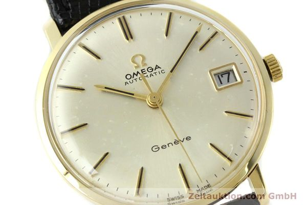 montre de luxe d occasion Omega * or jaunen 14 ct automatique Kal. 565 Ref. 162037  | 141147 02