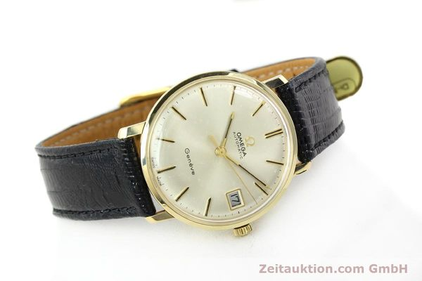 montre de luxe d occasion Omega * or jaunen 14 ct automatique Kal. 565 Ref. 162037  | 141147 03