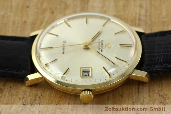 montre de luxe d occasion Omega * or jaunen 14 ct automatique Kal. 565 Ref. 162037  | 141147 05