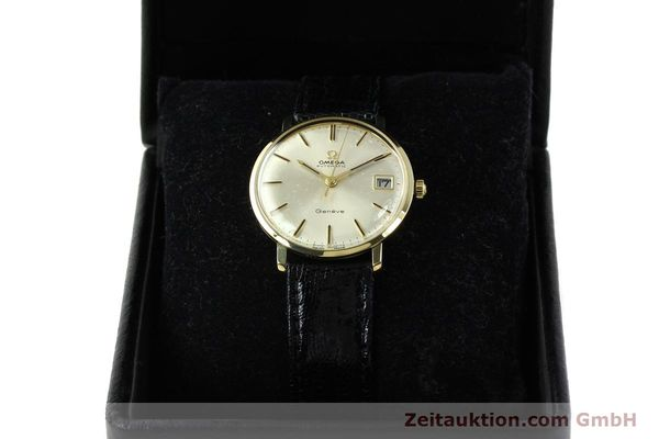 montre de luxe d occasion Omega * or jaunen 14 ct automatique Kal. 565 Ref. 162037  | 141147 07
