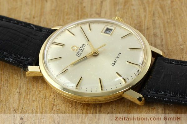 montre de luxe d occasion Omega * or jaunen 14 ct automatique Kal. 565 Ref. 162037  | 141147 14