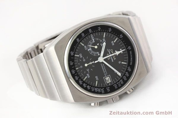 Used luxury watch Omega Speedmaster steel automatic Kal. 1040 Ref. 3780801/1780002  | 141148 03