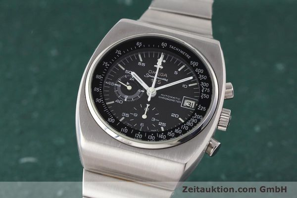 Used luxury watch Omega Speedmaster steel automatic Kal. 1040 Ref. 3780801/1780002  | 141148 04