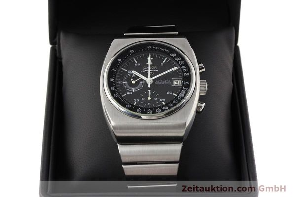Used luxury watch Omega Speedmaster steel automatic Kal. 1040 Ref. 3780801/1780002  | 141148 07