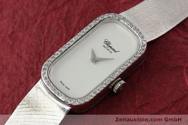 Used luxury watch Chopard * 18 ct white gold manual winding Kal. F.E.F 664 Ref. 5074  | 141150 01
