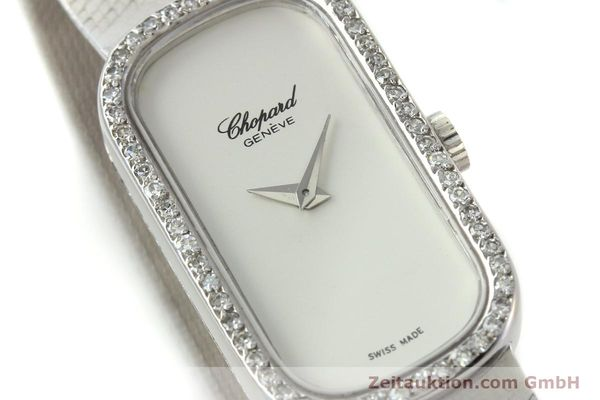 Used luxury watch Chopard * 18 ct white gold manual winding Kal. F.E.F 664 Ref. 5074  | 141150 02