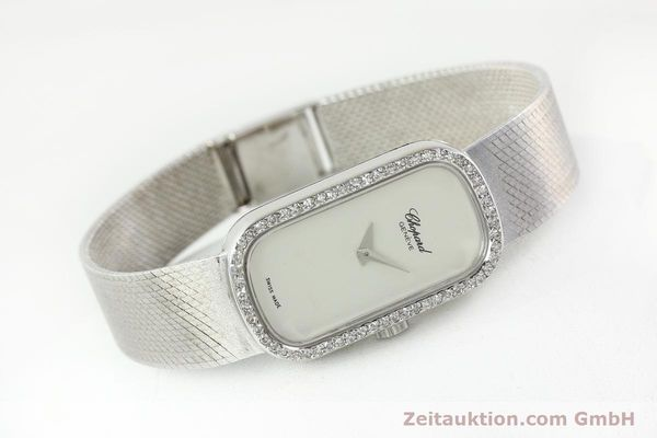 Used luxury watch Chopard * 18 ct white gold manual winding Kal. F.E.F 664 Ref. 5074  | 141150 03