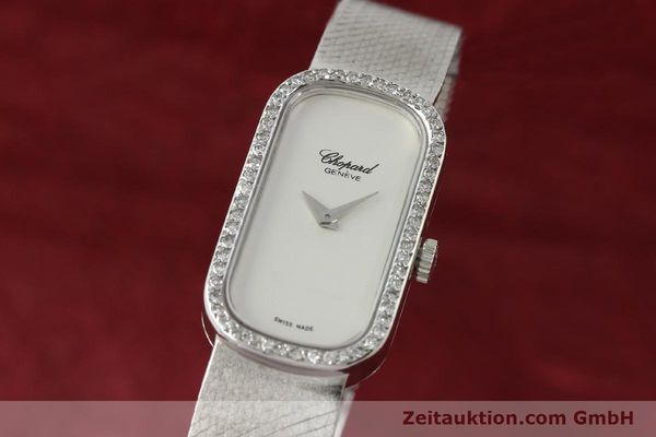 Used luxury watch Chopard * 18 ct white gold manual winding Kal. F.E.F 664 Ref. 5074  | 141150 04