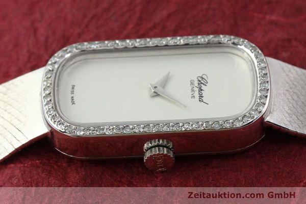 Used luxury watch Chopard * 18 ct white gold manual winding Kal. F.E.F 664 Ref. 5074  | 141150 05
