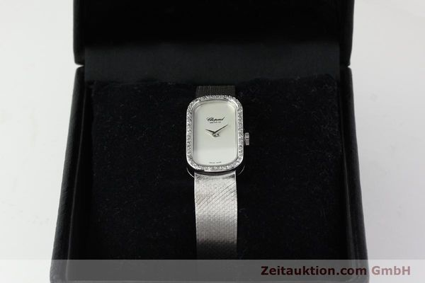 Used luxury watch Chopard * 18 ct white gold manual winding Kal. F.E.F 664 Ref. 5074  | 141150 07