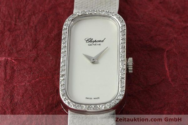 Used luxury watch Chopard * 18 ct white gold manual winding Kal. F.E.F 664 Ref. 5074  | 141150 16