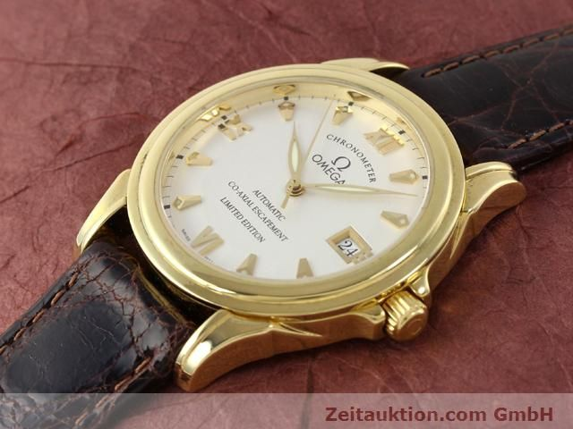 Used luxury watch Omega De Ville 18 ct gold automatic Kal. 2500A  | 141151 01