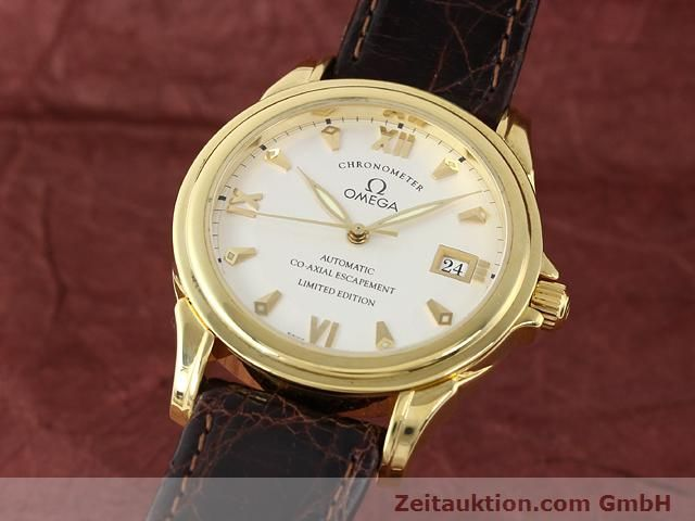 Used luxury watch Omega De Ville 18 ct gold automatic Kal. 2500A  | 141151 04