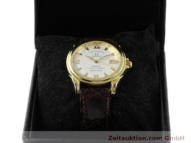 Used luxury watch Omega De Ville 18 ct gold automatic Kal. 2500A  | 141151 07