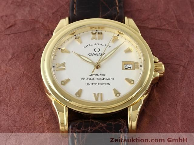 Used luxury watch Omega De Ville 18 ct gold automatic Kal. 2500A  | 141151 16
