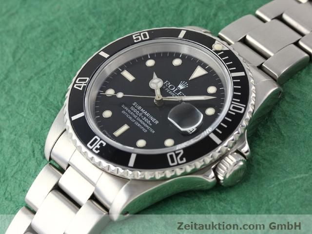 Used luxury watch Rolex Submariner steel automatic Kal. 3135 Ref. 16610  | 141154 01