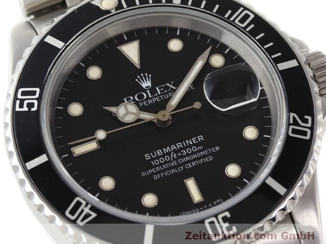 Used luxury watch Rolex Submariner steel automatic Kal. 3135 Ref. 16610  | 141154 02